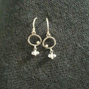 Silpada cz earrings